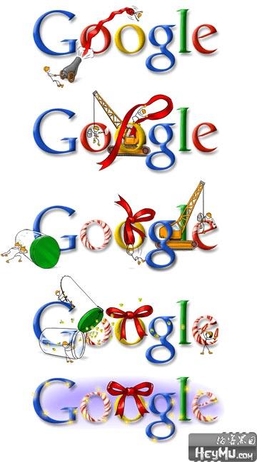 Google 2007圣诞节