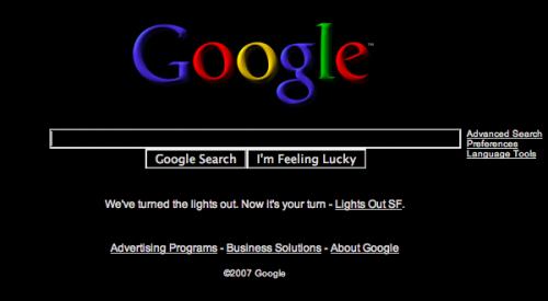 黑色版Google